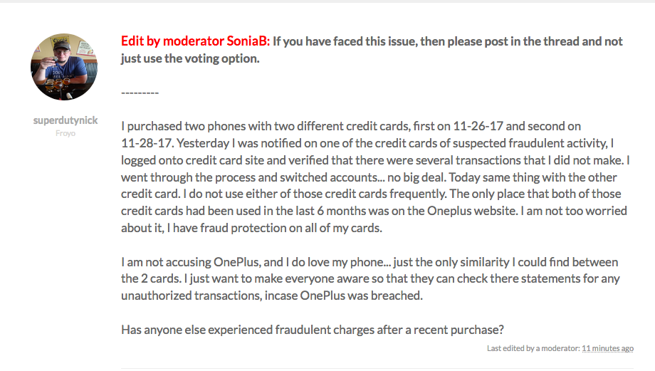 oneplus-credit-card-issue