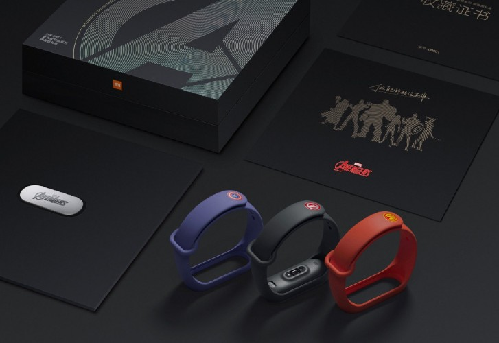 Mi Band 4 Limited Avengers Edition